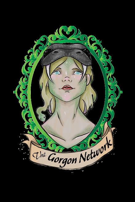 Logo, green frame, translucent